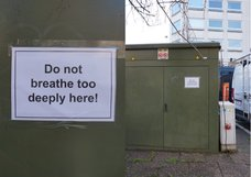 Do not breathe too deeply here!